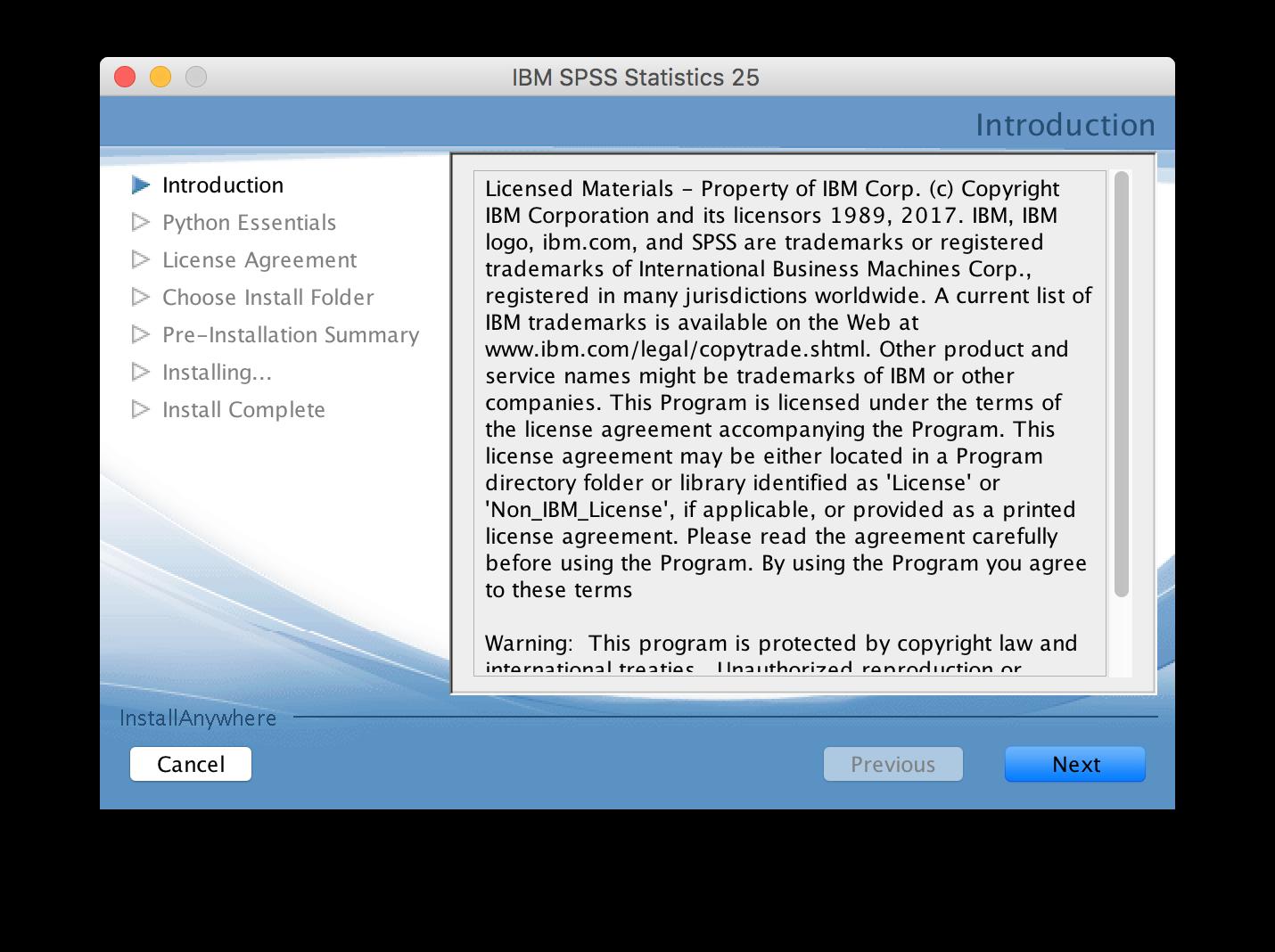 IBM SPSS 25 for Mac – zendesk